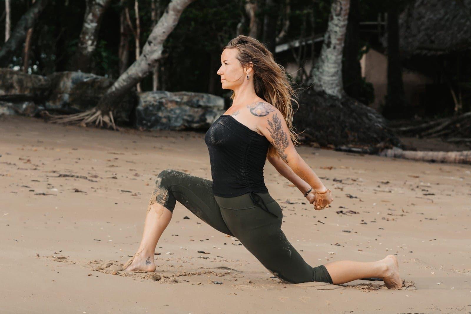 Wild Cedar Wellness on a beach