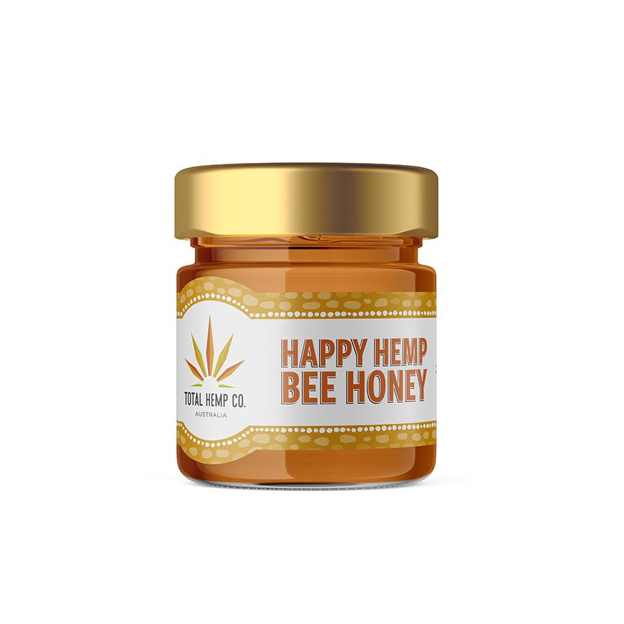 hemp honey jar
